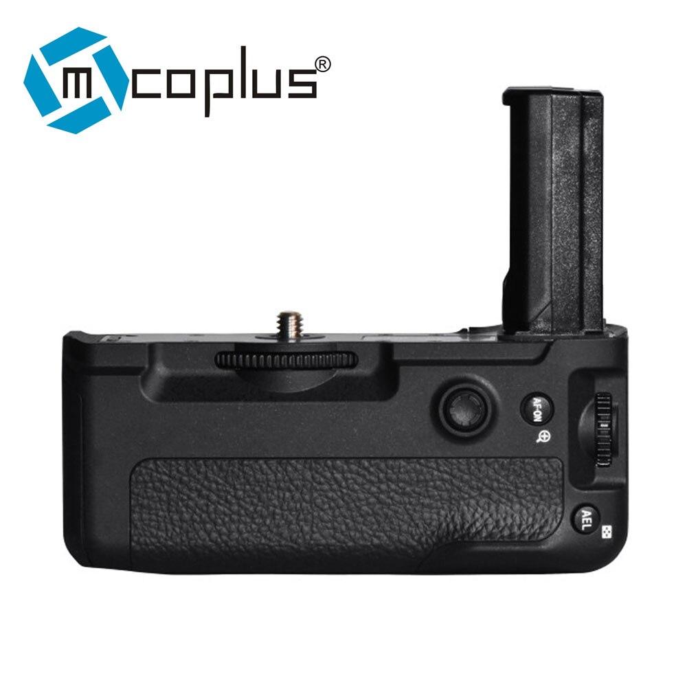 Mcoplus BG A9 poignée de batterie verticale pour Sony A9 A7RIII A7III A7 III caméra-in Extensions de batterie from Electronique    1