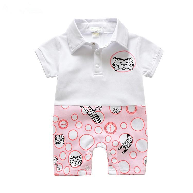 Lovely-Brand-Summer-Baby-Rompers-Tiger-One-piece-100-Cotton-Newborn-Jumpsuit-Kleren