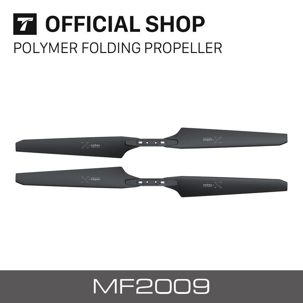 t motor novo mf2009 folding helice de carbono para rc multi rotores vtol