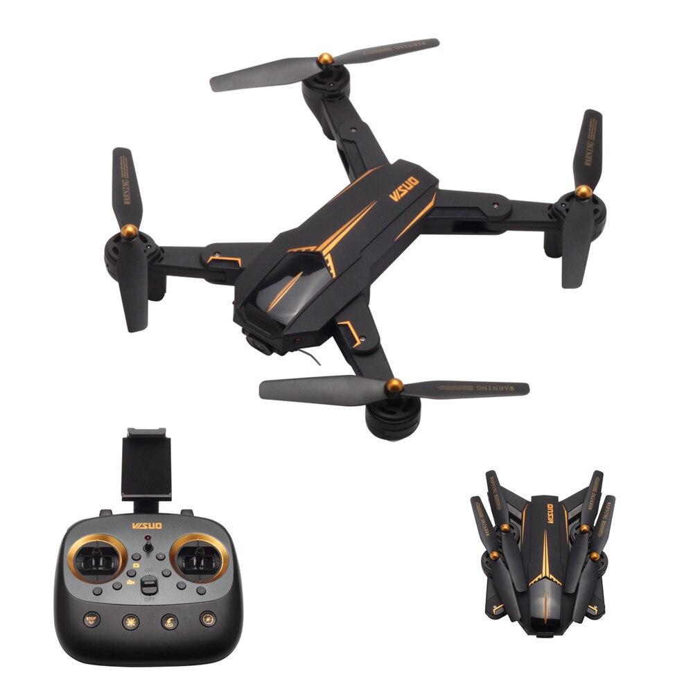 VISUO XS812 GPS RC Drone avec 2MP/5MP HD Caméra 5g WIFI FPV Maintien D'altitude Un Retour Key RC Quadcopter Hélicoptère VS X12 XS809S
