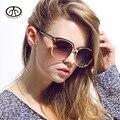 Горячий Новый модный бренд Очки Женщин Солнцезащитные Очки Ретро Мужчины Gafas УФ Большой Рамке Солнцезащитные очки