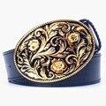 Золотой соломы шаблон пояса женская мода металла золота пояс джинсы пояса арабески шаблон популярные панк Декоративные планки