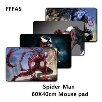 FFFAS 60X40 см американский фильм коврик для мышки с аниме игровой XL Большой Grande коврик для мыши геймер Коврик для клавиатуры танос Железный чело...