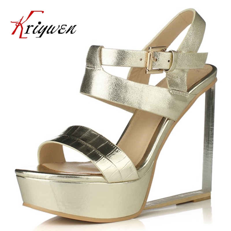 Plus Size 33-41 Hot Selling Fashion Sexy Women crystal heels real leather Rome Gladiator Open Toe High Heeled Sandals for party new 2017 hot selling fashion women luxury sexy black gladiator cuts out open toe lace up back 100 mm phaedra peacock sandals
