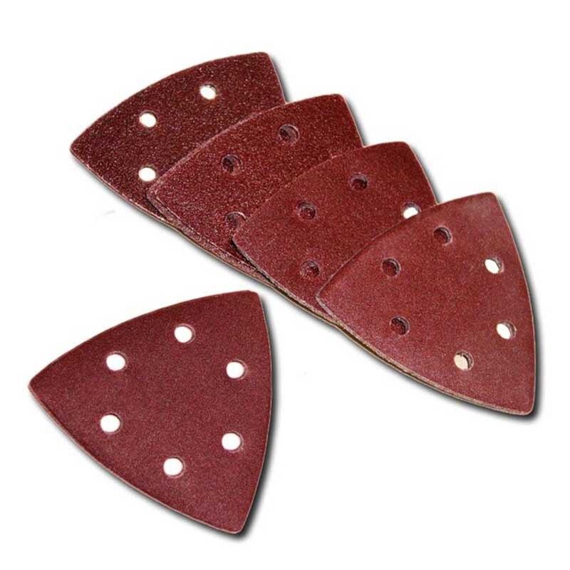25Pcs 93mm Sanding Discs Paper Delta Sander Pad For Fein Bosch Oscillating Tool Set High Quality