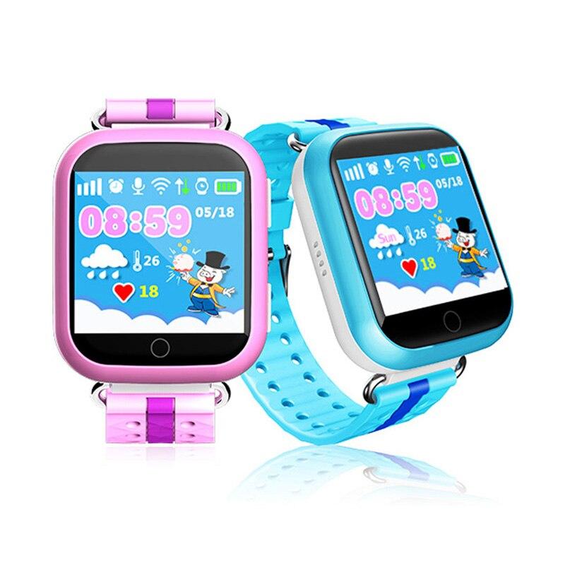 GPS Fern Monitor Smart Uhr mit Wifi 1,54 zoll Touchscreen SOS Anruf Location Gerät Tracker Digitalen Armbanduhren für Kinder-in Kinderuhren aus Uhren bei  Gruppe 2