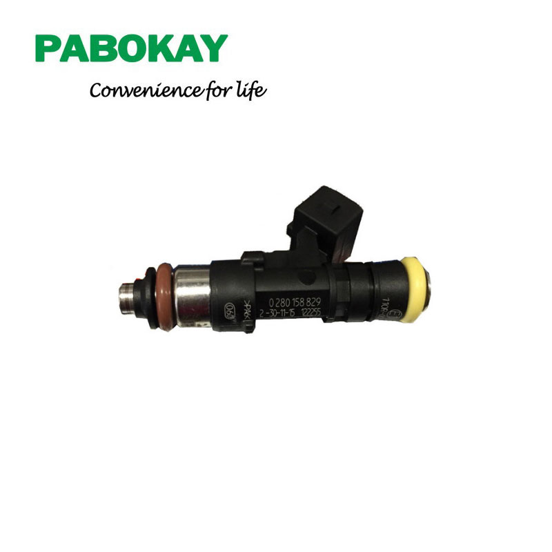 Free Shipping 100% New Original Fuel Injectors EV1 Connector 210LB 2200cc High impedance 0280158829 new 629 00002 duplicator flat belt 15x0 65x519 fit for riso rv ev free shipping