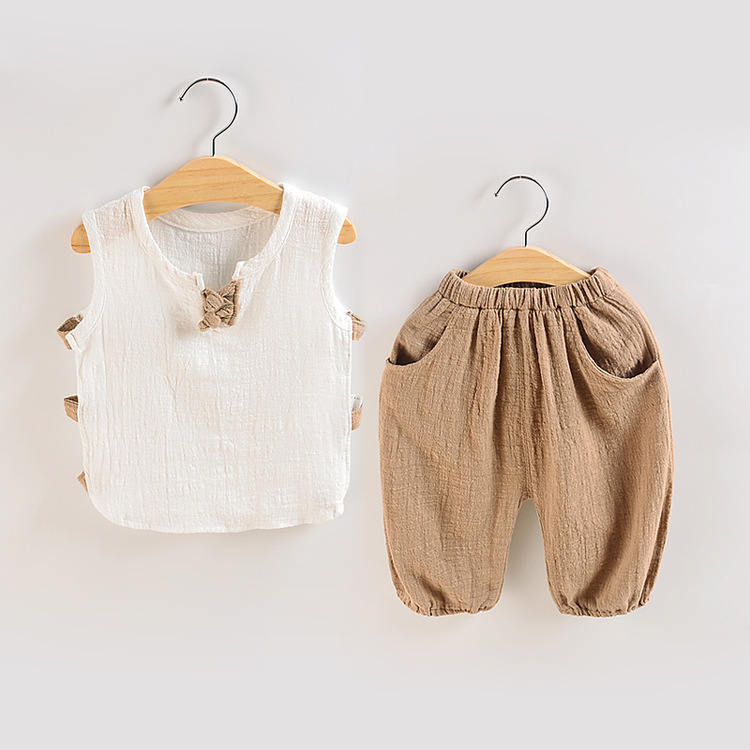 בני תינוק ילדה קיץ תינוק ילד בגדי ילדים צעירים קיץ 1-4 שנים קצר שרוול חליפת מגמת פעוט ילד בגדים