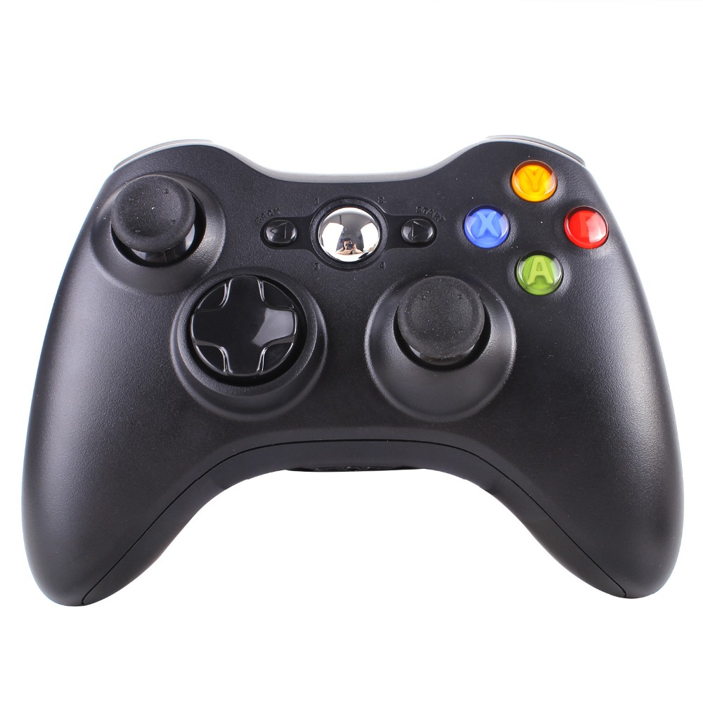 Black Beautiful 2 4G Wireless Gamepad Joypad Game Remote Controller Joystick For Microsoft For Xbox 360