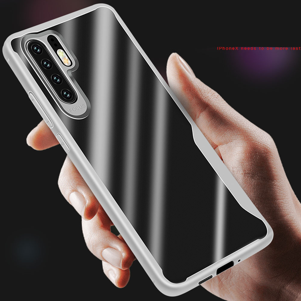 Huawei P30 Pro case transparent thin soft TPU full protect Armor case for Huawei P30 back cover coque Huawei P30 Lite case capa