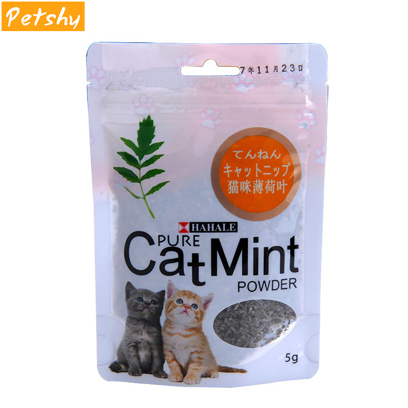 Petshy Cat Mint Natural Organic Premium Catnip Safety Edible Catmint Menthol Flavor kitten Cats Supplies for Eat Food/Catnip Toy