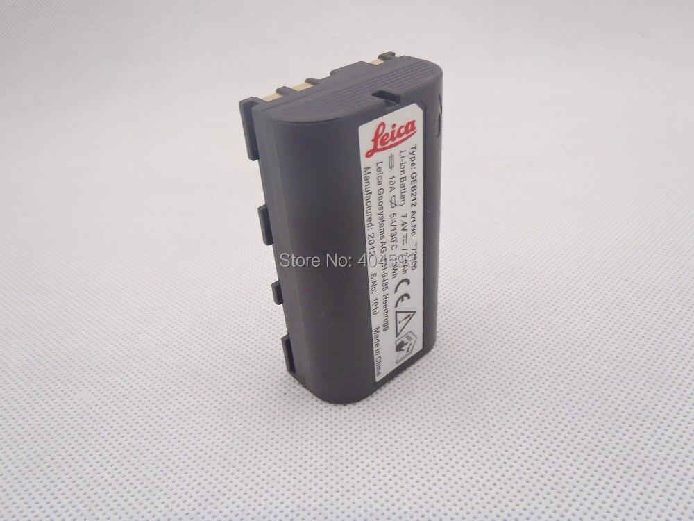 GEB211 Li-Ion Battery for Leica ATX1200 RX1200 GPS1200 GRX1200 GX1200 TC1200 NEW li ion bl 2000a battery for hi target qmini v8 v9 v10 rtk gps