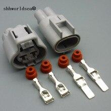 Shhworld Sea Женский Мужской авто 2-контактный электронный разъем вентилятора водонепроницаемый использовать для Toyota Ford Focus Mazda Haima 176142-2 76143-6