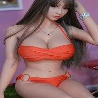 158cm Japan Full Silicone Sex Dolls For Men Skeleton Realistic Pussy Vagina Life Size Lifelike Love