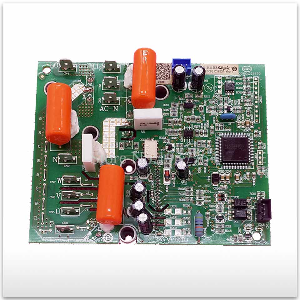 Air conditioning computer board Variable frequency board drive board module 0011800258H 0011800258G 0011800258 wire universal board computer board six lines 0040400256 0040400257 used disassemble