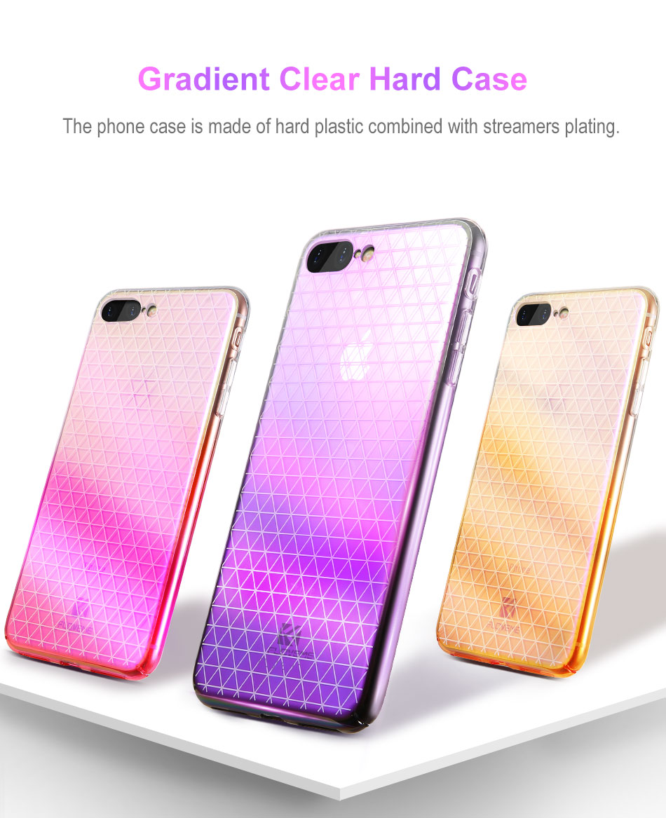 2a3bfd3d7e8 Luxury Case For iPhone 8 7 6 Plus Plating Ultra-Thin Cover Phone ...
