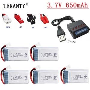 3.7v 650mah Li-Po Battery + Ch