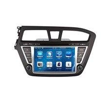 Coche Reproductor de DVD Para Hyundai i20 2014 2015 2016 En El Tablero de Navegación GPS 3G Radio Del Bluetooth Del Volante Control