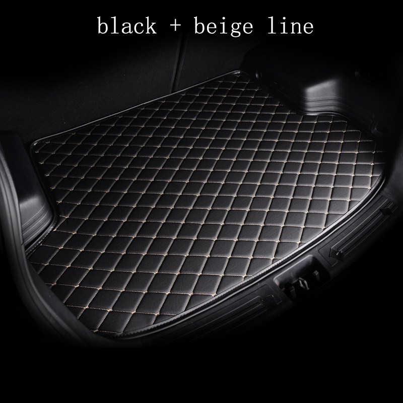 Kalaisike مخصص فرش سيارة للأقدام الجذع لسيارات BMW جميع medels X3 X1 X4 X5 X6 Z4 525 520 f30 f10 e46 e90 سيارة التصميم مخصص سيارة البضائع بطانة