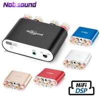 2020 Latest Nobsound NS-10G Pro Mini Bluetooth 5.0 DSP Digital Power Amplifier Stereo HiFi Audio AMP 50W+50W