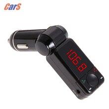 Coche Transmisor FM 5 V/2.1A Inalámbrico Kit de Coche Bluetooth Modulador de FM Reproductor MP3 USB fm Cargador modulador car-styling