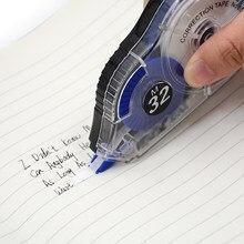 Fita de correção de etiqueta branca escritório/material escolar estudante erro fita cinto papelaria escola corrector ferramenta de escrita 32m * 5mm