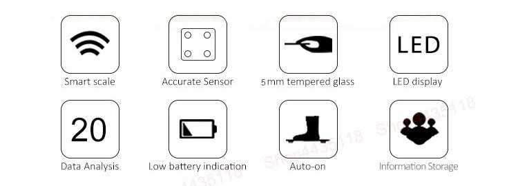HOT SALE] ICOMON i31 Digital Smart Bathroom Scales Floor