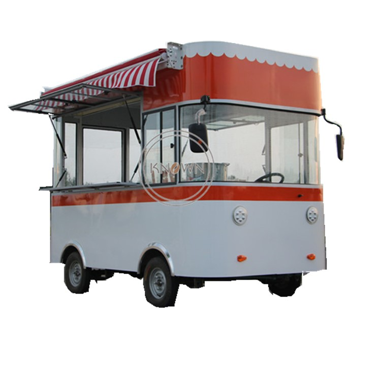 Electric fast food ice cream hot dog fruits mobile food trailer mobile food cart truckElectric fast food ice cream hot dog fruits mobile food trailer mobile food cart truck