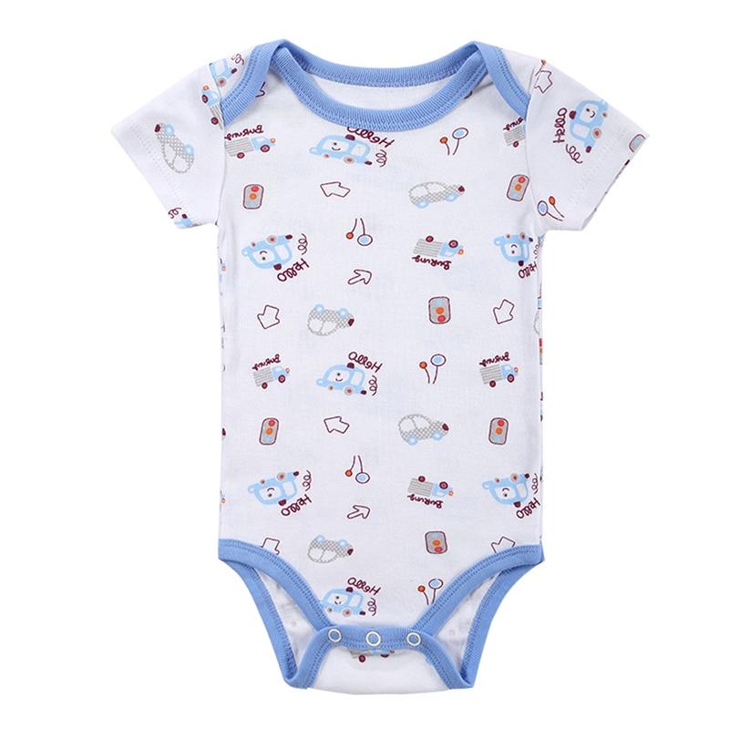 Kūdikių mergina berniukas Romper Naujagimis kūdikis Trumpas - Kūdikių drabužiai - Nuotrauka 2