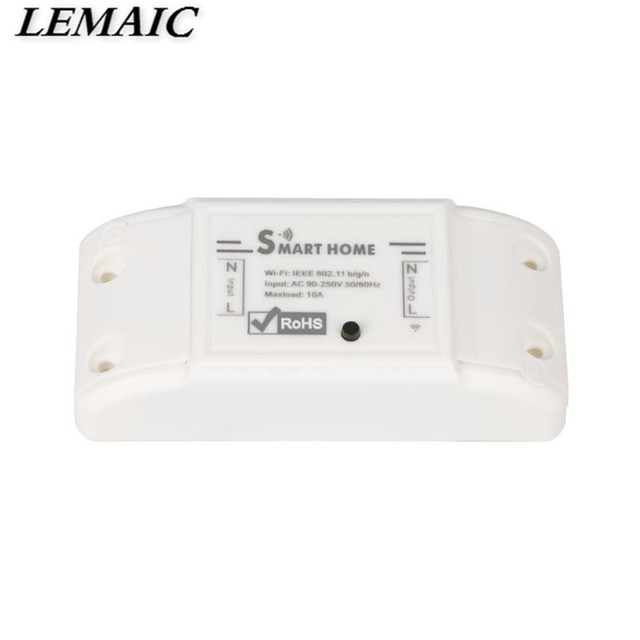Brand New Smart Home Wireless Intelligent Remote Control Products Itead Share Timer Diy 220V Via Android IOS Wifi Switch