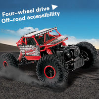 Mini Rc Car Remote Control 4wd 2 4GHz High Speed Four Drive Off Road Electric Bigfoot