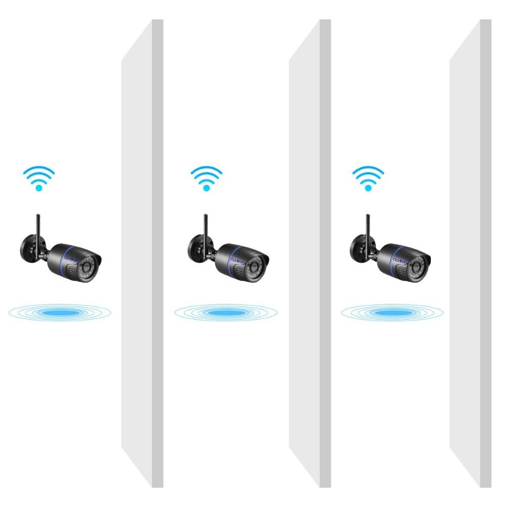 Image 5 - Gadinan caméra IP 720P  Enregistrement Audio 1080P, moniteur de sécurité Wifi dans la rue et lextérieur, prise en charge de la carte TF, App Yoosee, pour SmartphoneCaméras de surveillance   -