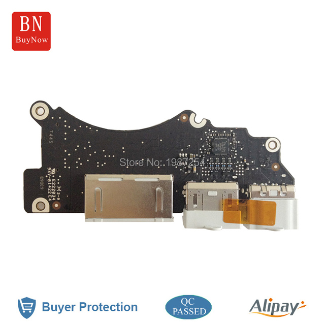 Original For Macbook Pro Retina 15'' A1398 USB HDMI Audio Port Board MC975 MC976 2012 Year