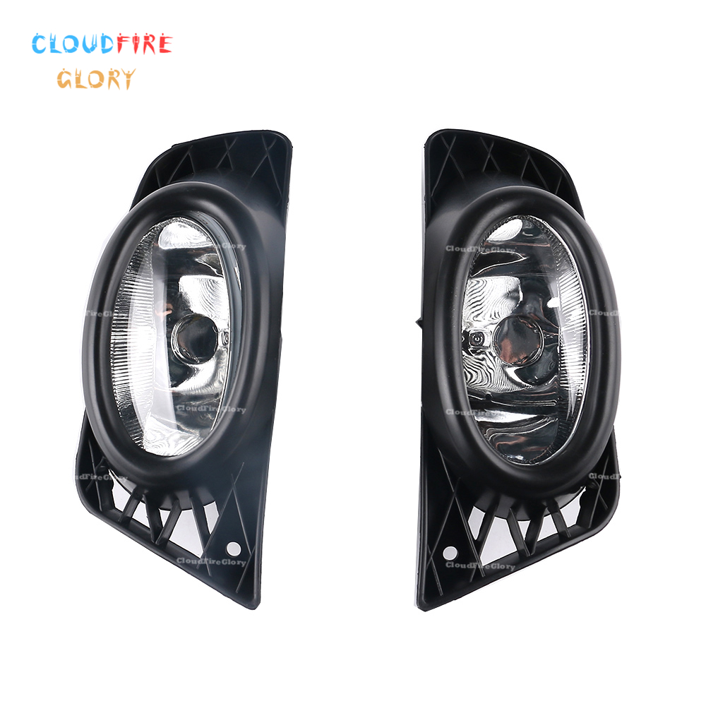 33950 SNA H51 33900 SNA H51 Pair Left Right Front Bumper Fog Light Fog Lamp For