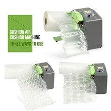 Air Kissen Verpackung Maschine Puffer Blase Tasche Inflator Film Puffer Aufblasbare AirBag Maschine Air Kissen Maker Hohe Geschwindigkeit