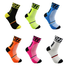 DH Sports New Cycling Socks Top Quality Professional Brand Sport Socks Breathable Bicycle Sock Outdoor Racing Big Size Men Women все цены