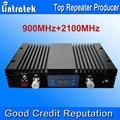 70dBi AGC MGC GSM 3G двухдиапазонный повторитель 3G W-CDMA 2100MHz + GSM 900Mhz двойной мобильный телефон усилитель сигнала GSM репитер UMTS сигнала