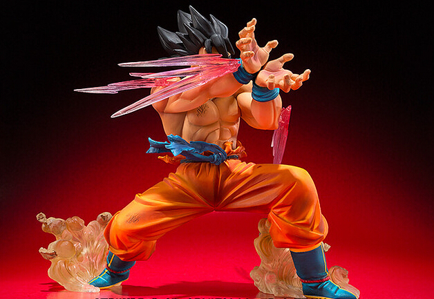 Goku KaioKen Figure 4″ 10CM