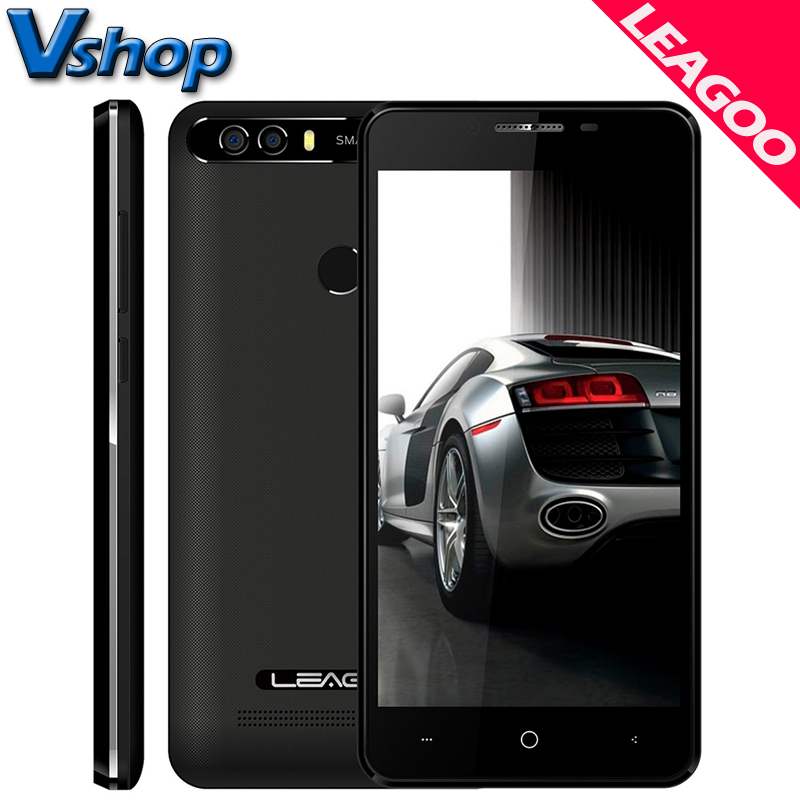 Original LEAGOO KIICAA POWER 3G Mobile Phone Android 7.0 2GB+16GB Quad Core Smartphone Dual Back Camera 720P 5.0 inch Cell Phone