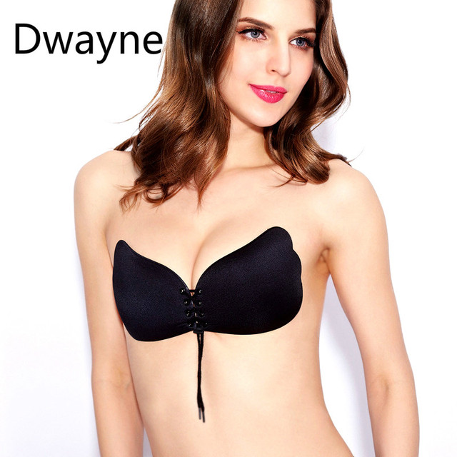 cb0ccb7d0e717 Sexy Women Strapless Bras Backless Seamless Invisible Bra Self-Adhesive  Push Up Free Stick On Wedding Adhesive Strapless Bras