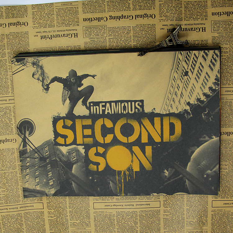 Action games around retor poster notorious / Dark Soul / Guild Wars / Ninja Dragon Sword / Shen Duo
