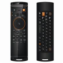 2.4 GHz Fly Air Mouse Mele F10 Deluxe Draadloze Toetsenbord Afstandsbediening met IR Leerfunctie voor Android TV Box