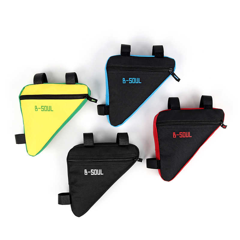 Triangle Bike Bag Front Tube Frame Cycling Bicycle Bags Waterproof MTB Road Pouch Holder Saddle Bags Bike Accessories