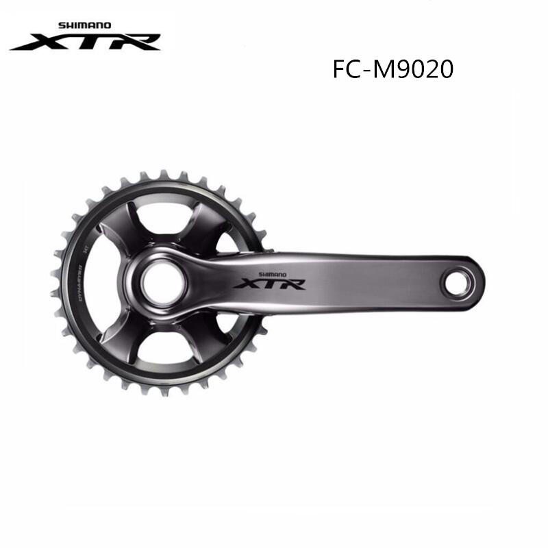SHIMANO XTR FC-M9020 Crankset 11 Speed MTB Bike Chainwheel M9020 M9000 30T 32T 34T 36T Bike Crank letter print crew neck long sleeve men s pullover sweatshirt