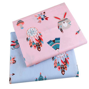Quilting Twill Tilda Cotton-Fabric Pink Blue Cartoon Tissue Cloth Sewing Baby-Sheets-Dress