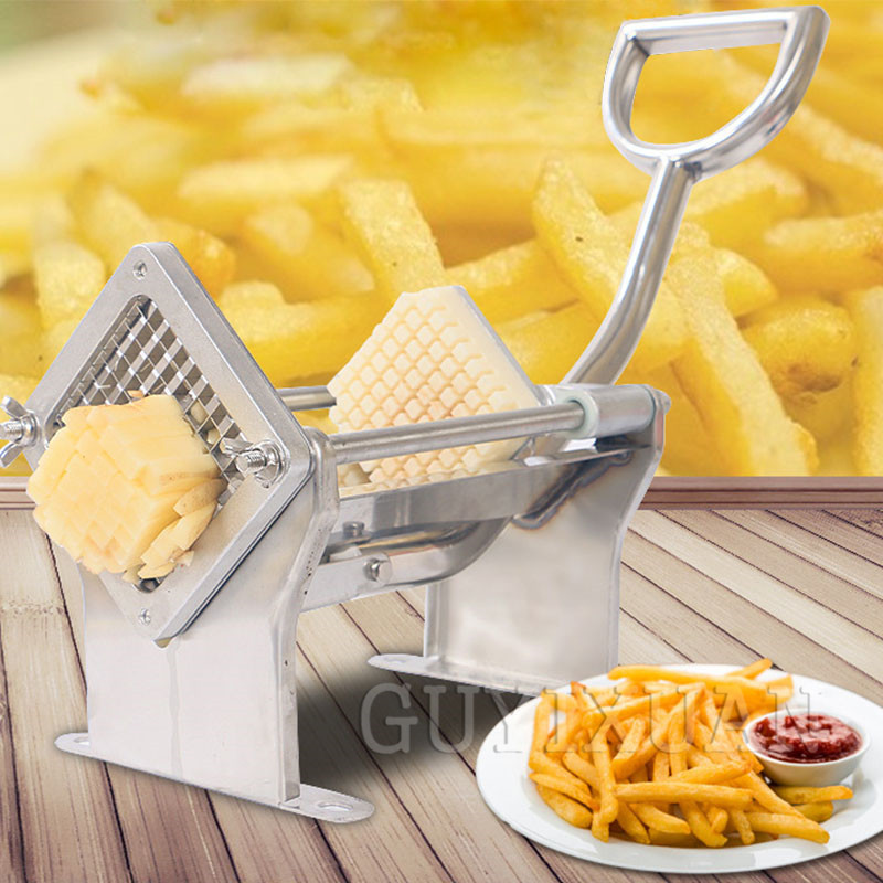 Commercial Multifunction Wire Cutter Cutting Machine Manual Potato Cutting Machine Household Stainless Steel Fries Machine