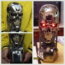 OGRM Replica Resin Terminator T800 1:1 Scale Skull Endoskeleton Lift-Size Bust Figure LED EYE Best Quality T-800 T2 Sideshow
