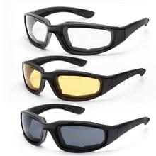 À prova de vento scooter óculos de sol motocicleta equitação óculos resistente ao vento acolchoado confortável dustproof proteção para os olhos