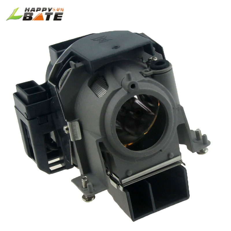 HAPPYBATE Compatible projector lamp NP09LP with housing for NP61 NP61+ NP61G NP62 NP62+ NP62G NP64 NP64G With 180 Days warranty free shipping np09lp original projector lamp with module uhp 200 150w for ne c np61 np62