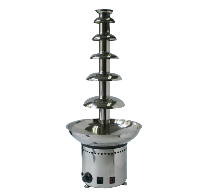 Free Shipping 82CM 6 Tier Full 304 Stainless Steel Chommercial Chocolate Fountain Machine Wedding Fountain Waterfall fast shipping food machine 6 layers chocolate fountains commercial chocolate waterfall machine with full stainless steel